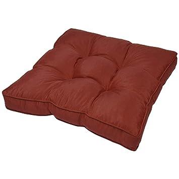 Coussin lounge - Pour Assise - Pour extérieur - Imperméable - Rouge ...