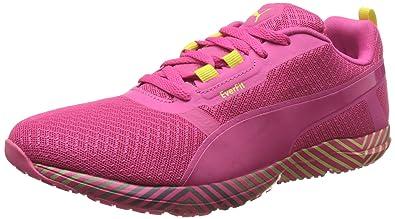 Puma Women s Pulse Flex Xt Graphic WNS Fuchsia Purple and Lime Punch  Multisport Training Shoes - a4888a193c24