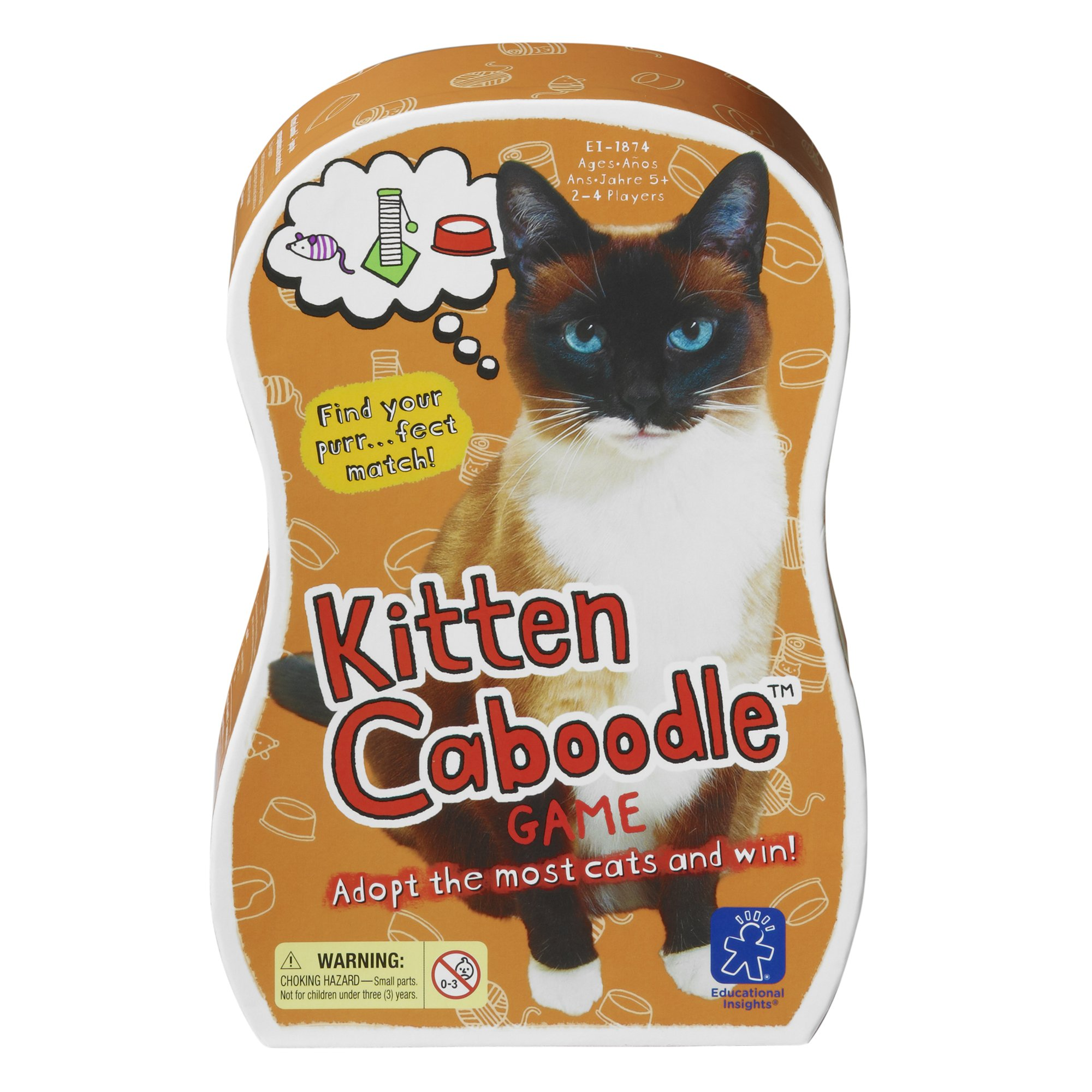 Educational Insights Kitten Caboodle Game
