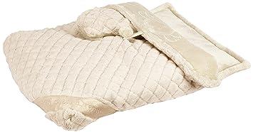 pinkaholic nueva york ángel dormir cama perro cama, marfil