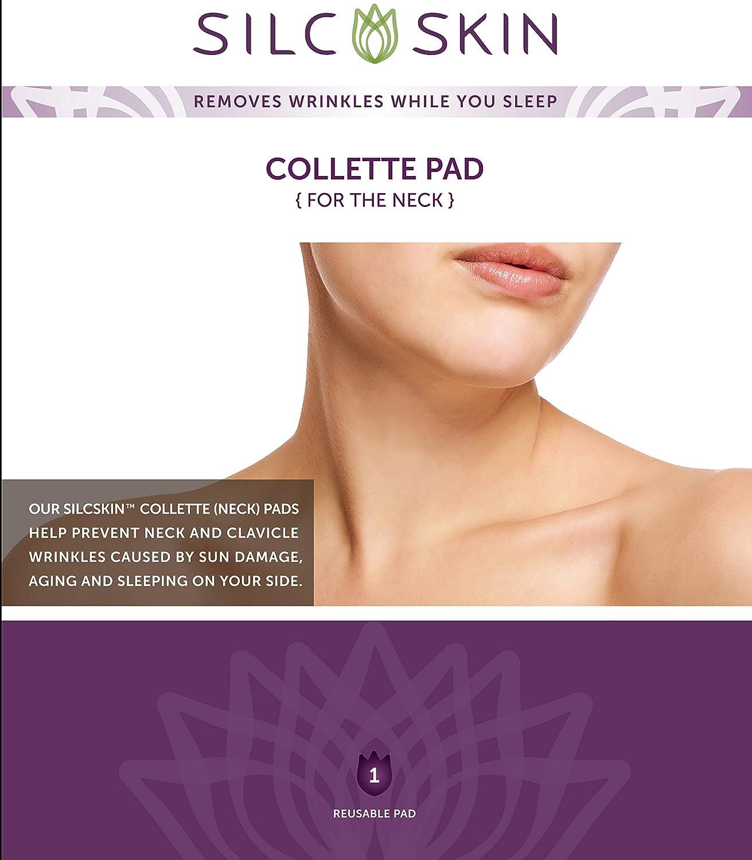 Decollette Pad - Correct & Prevent Chest Wrinkles, 1 pad,(Calvet Cosmetics): Amazon.es: Belleza