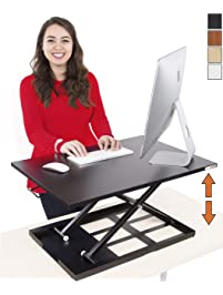 Stand Steady Standing Desk X-Elite Standing Desk   X-Elite Pro Version, Instantly Convert Any Desk into a Sit/Stand up...