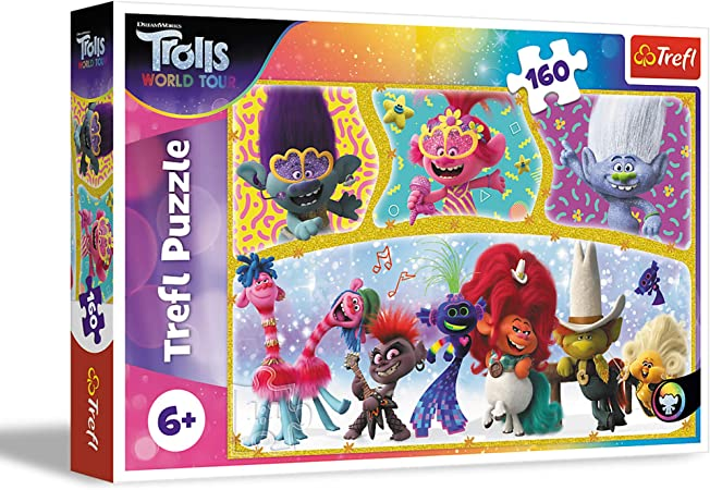 Trolls World Tour 7-Pack of Wood Puzzles