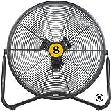 "Soleaire B-Air FIRTANA-20X 20"" Multi Purpose High Velocity Floor Fan"