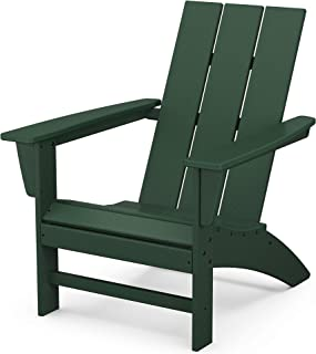 product image for POLYWOOD AD420GR Modern Adirondack Chair, Green