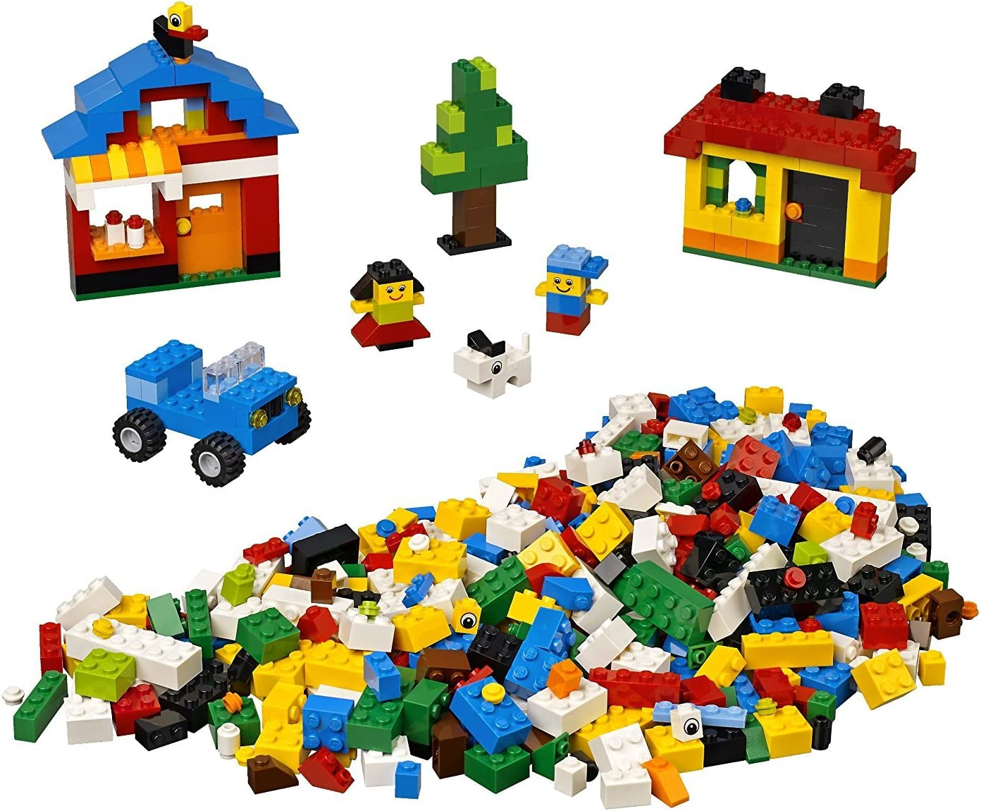 LEGO Fun with Bricks Building Set, 600 pieces