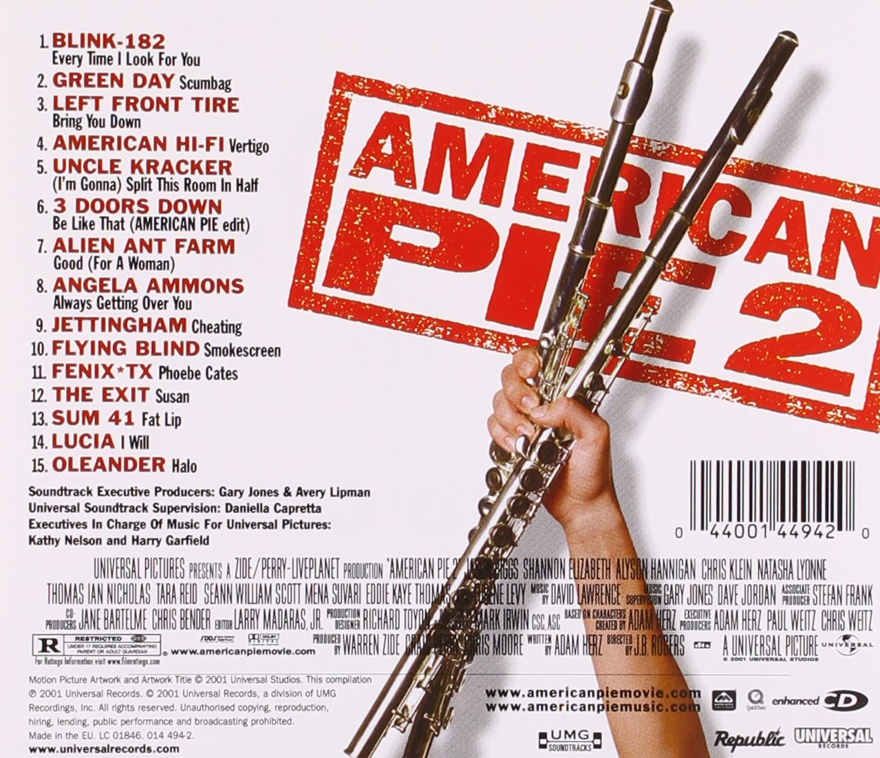 Film american pie naked mile soundtracks security
