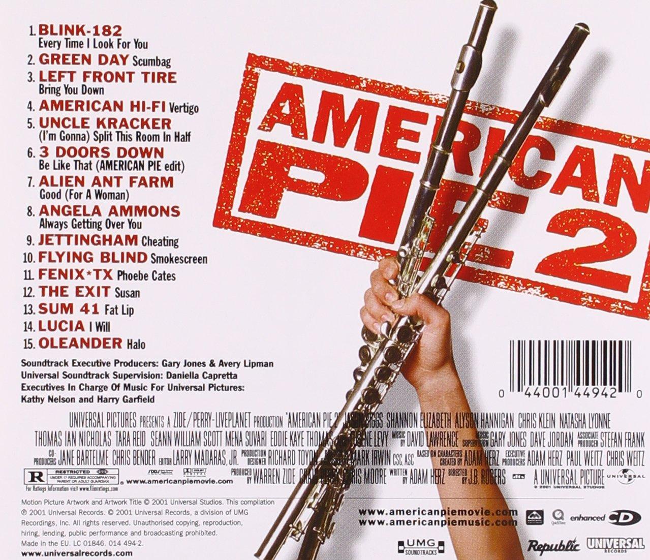 american pie 2 soundtracks Beste Bilder: