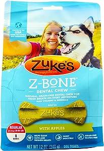 Zuke`s Z-Bone Regular Apple 8 Count, 12oz (340g)