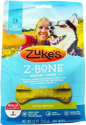Zuke s Z-Bone Regular Apple 8 Count, 12oz 340g