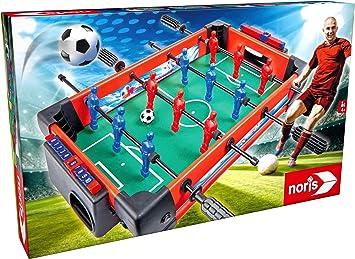 noris 606174468 - Juego de Mesa de futbolín para Toda la Familia (a Partir de 4 años): Amazon.es: Juguetes y juegos