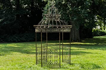 Amazon.de: CLP Garten-Pavillon Crown, Pavillion mit Seitenwänden ...