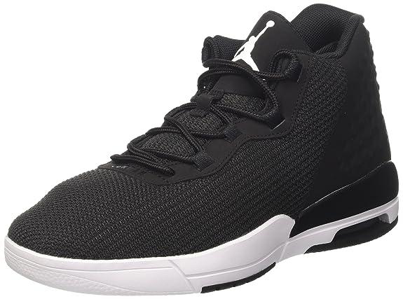 Nike Jordan Academy, Zapatillas de Baloncesto para Hombre, Negro (Black/White-Cool Grey-Vachetta Tan), 42 EU