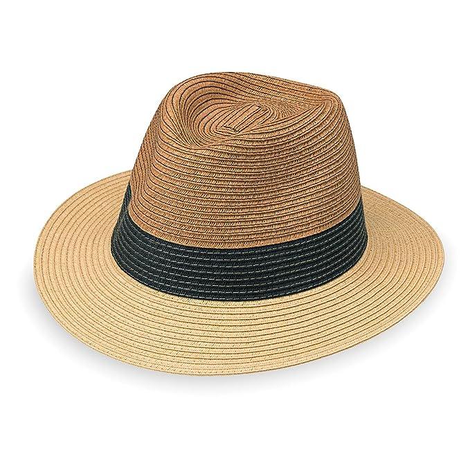 Wallaroo Hat Company Men s St. Tropez Fedora - Fedora f9dfec7ddadd