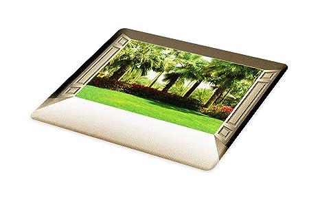 373dda5bc3d18 Amazon.com: Lunarable Tree of Life Cutting Board, Doors Open to a ...