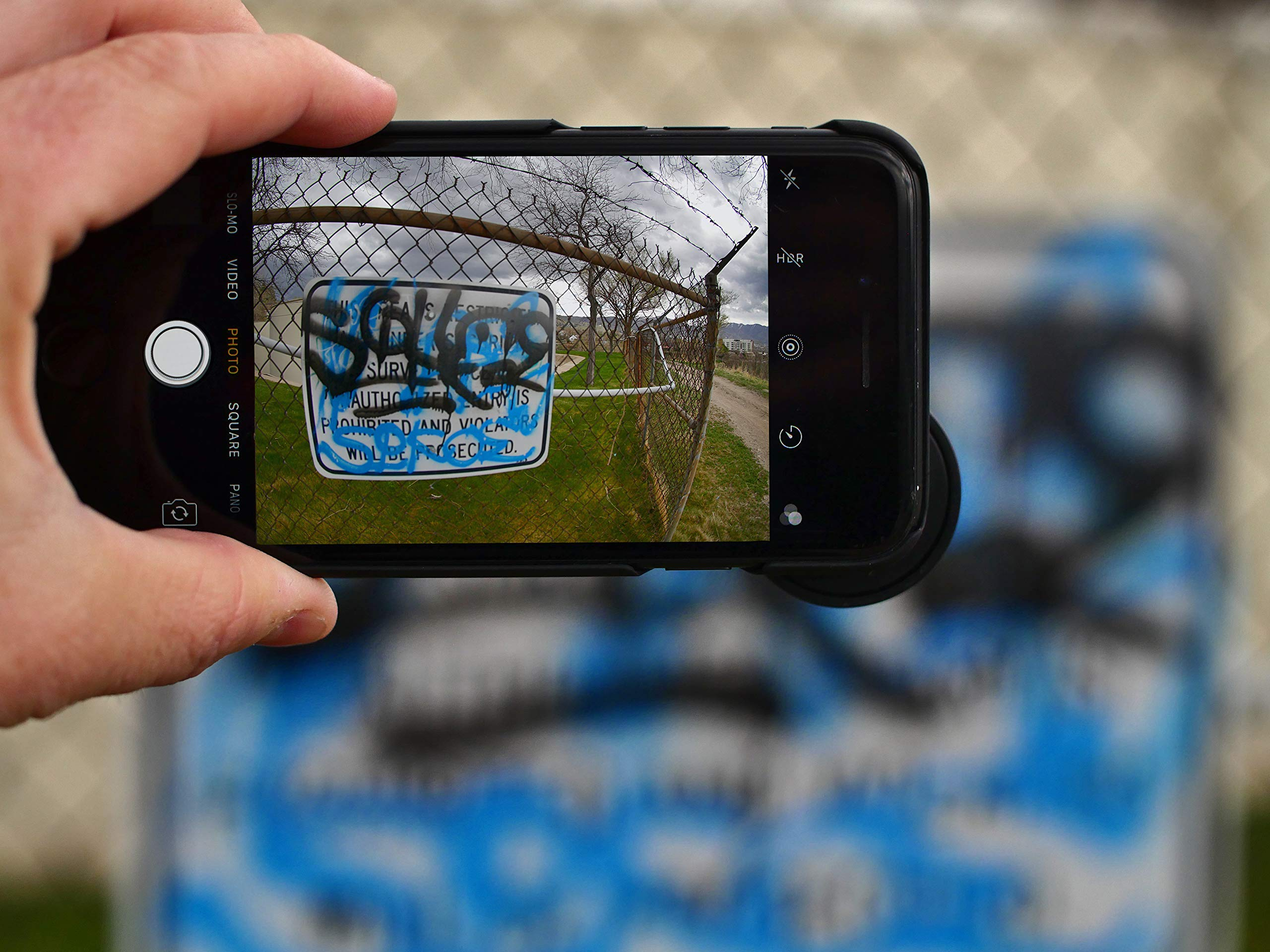 Death Lens iPhone 7 Fisheye 200 Degree Professional Photo HD - Perfect for Skateboarding, Snowboarding, Skiing, and Traveling by DEATH LENS