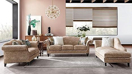 Amazon.com: Acanva Mid Century Vintage - Juego de sofá y ...