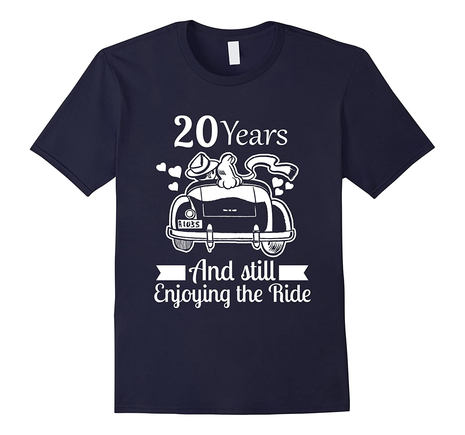 20th Wedding Anniversary Relationship Gifts Men Women Shirt-TH