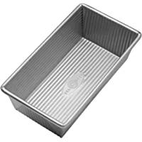 USA Pan Bakeware Silver Small Loaf Pan Silver