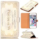 Hogwarts Express Train ticket Pattern Slim Wallet Card Flip Stand PU Leather Pouch Case Cover For Apple iphone 6 iphone 6S 4.7 inch New Arrival - Cool as Great Gift