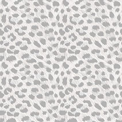 Fine Decor Tropica Animal Prints Wallpaper Pearl Fd42466