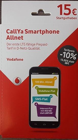 Prepaid Karte Mit Handy.Vodafone Smartphone Allnet Normal Und Micro Sim Prepaid Handy Sim Karte Inkl 15 Euro Guthaben