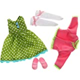 Flower Power Outfit Set for Lottie dolls