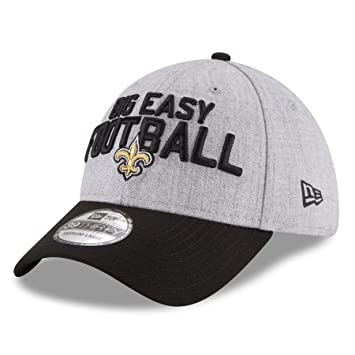 New Era NFL NEW ORLEANS SAINTS Authentic 39THIRTY Onstage Draft 2018  Stretch Fit Cap e834cbe27071