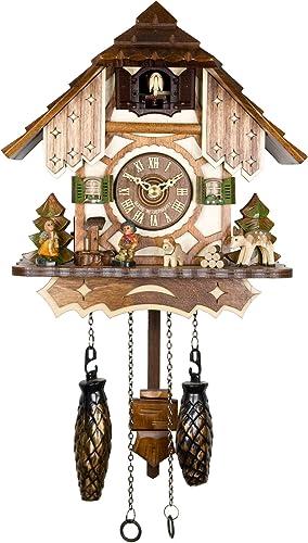 Adolf Herr Quartz Cuckoo Clock – The Half-timbered House AH 20 QM