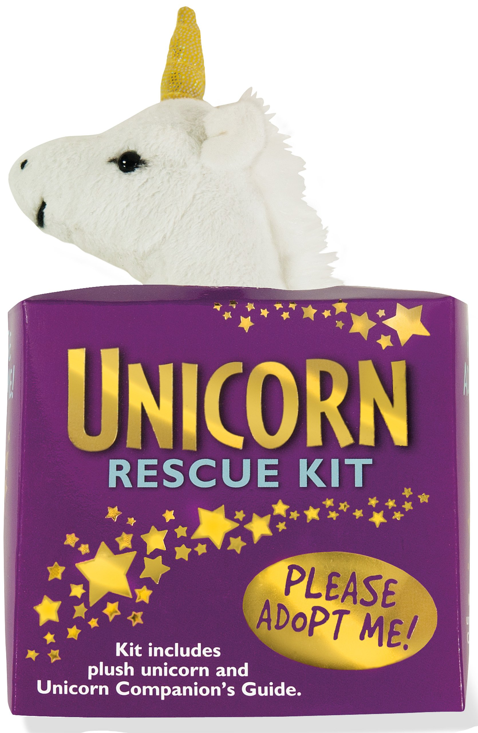 Unicorn Rescue Kit (Plush Toy and Book): Peter Pauper Press