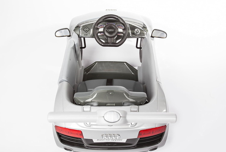 Rose Jusqu/à 20 kg Audi R8 Spyder /À partir de 1 An ROLLPLAY Voiture /à Pousser /Évolutive avec Repose-Pieds R/églables