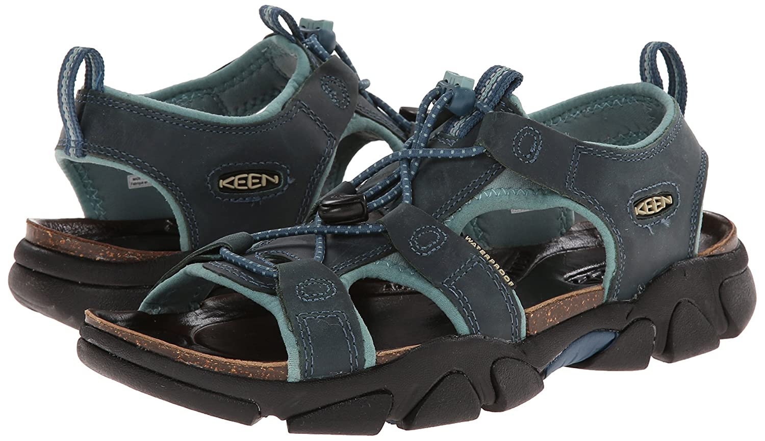 KEEN Women's 5 Sarasota Sandal B00LG9HNDG 5 Women's B(M) US|Indian Teal 1c1acd