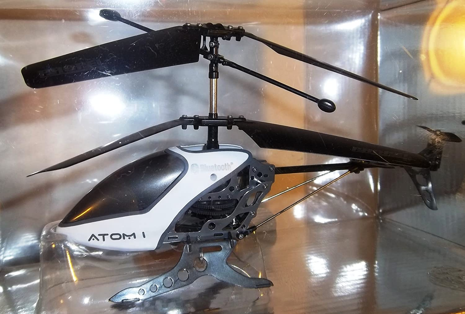 Amazon Propel Rc Atom 1 Helicopter With Gyro Stabilization And