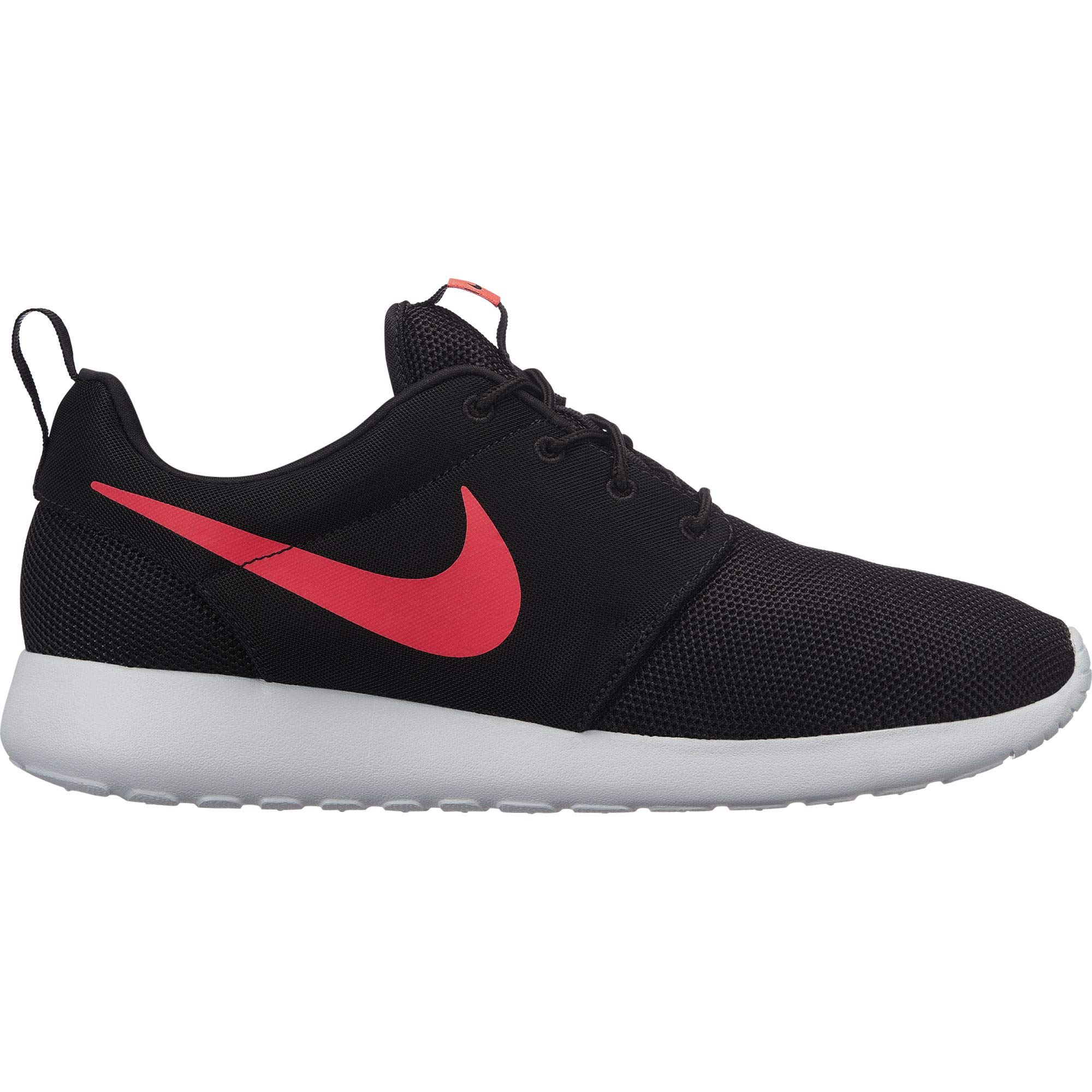 c0b30aaa3 Galleon - Nike Men's Roshe One Running Shoes, Black/Solar Red-Pure  Platinum, 13
