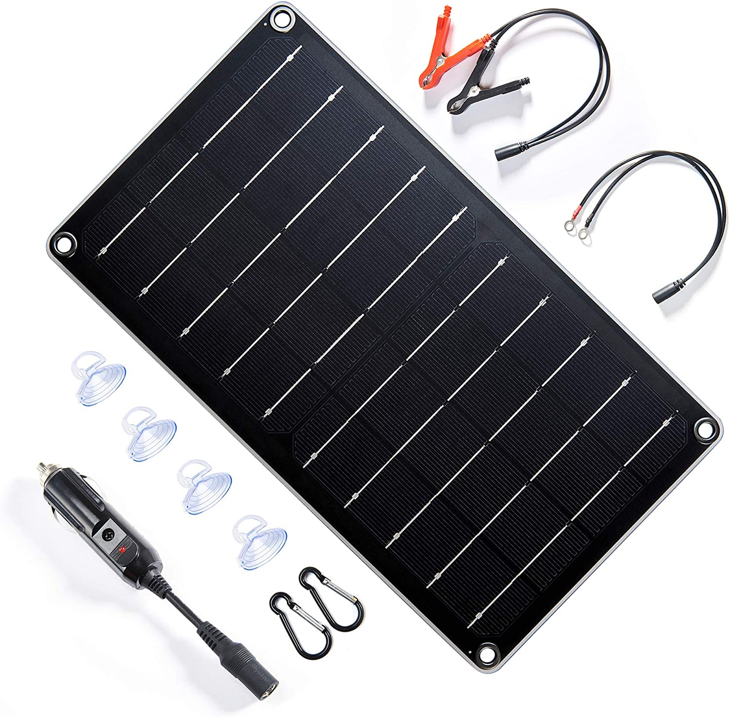100W Solar Panel kit battery Charger Controller Caravan 10-50A Boat Outdoor D3R5