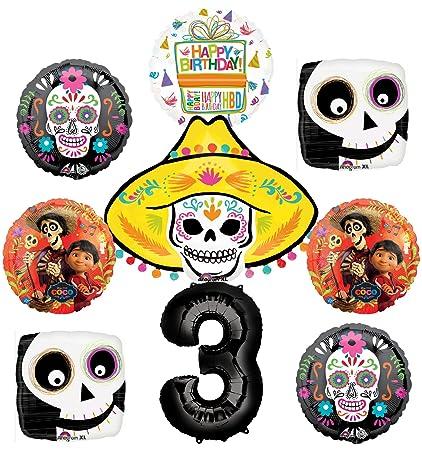 Amazon.com: Coco suministros para fiestas 3 A decoraciones ...