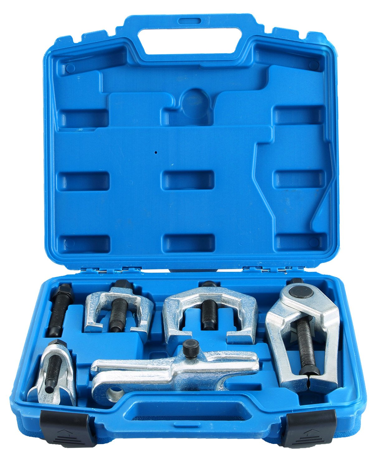 DASBET 6pc Front End Service Tool Kit Ball Joint Separator Pitman Arm Tie Rod Puller ZTECH AUTO