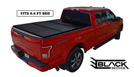Pickup Truck Covers >> Hard Tri Fold Solid Tonneau Pickup Truck Cover Top Mount Fits 2002 2019 Dodge Ram 1500 2500 3500 6 4 Feet 76 8 Inches 2 0 Metres Bed Box Size