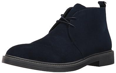 Calvin Klein Men's Jae Suede Boot, Dark Navy, ...