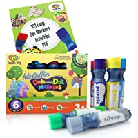 Dab and Dot Markers Superboy Shimmer Washable Paint