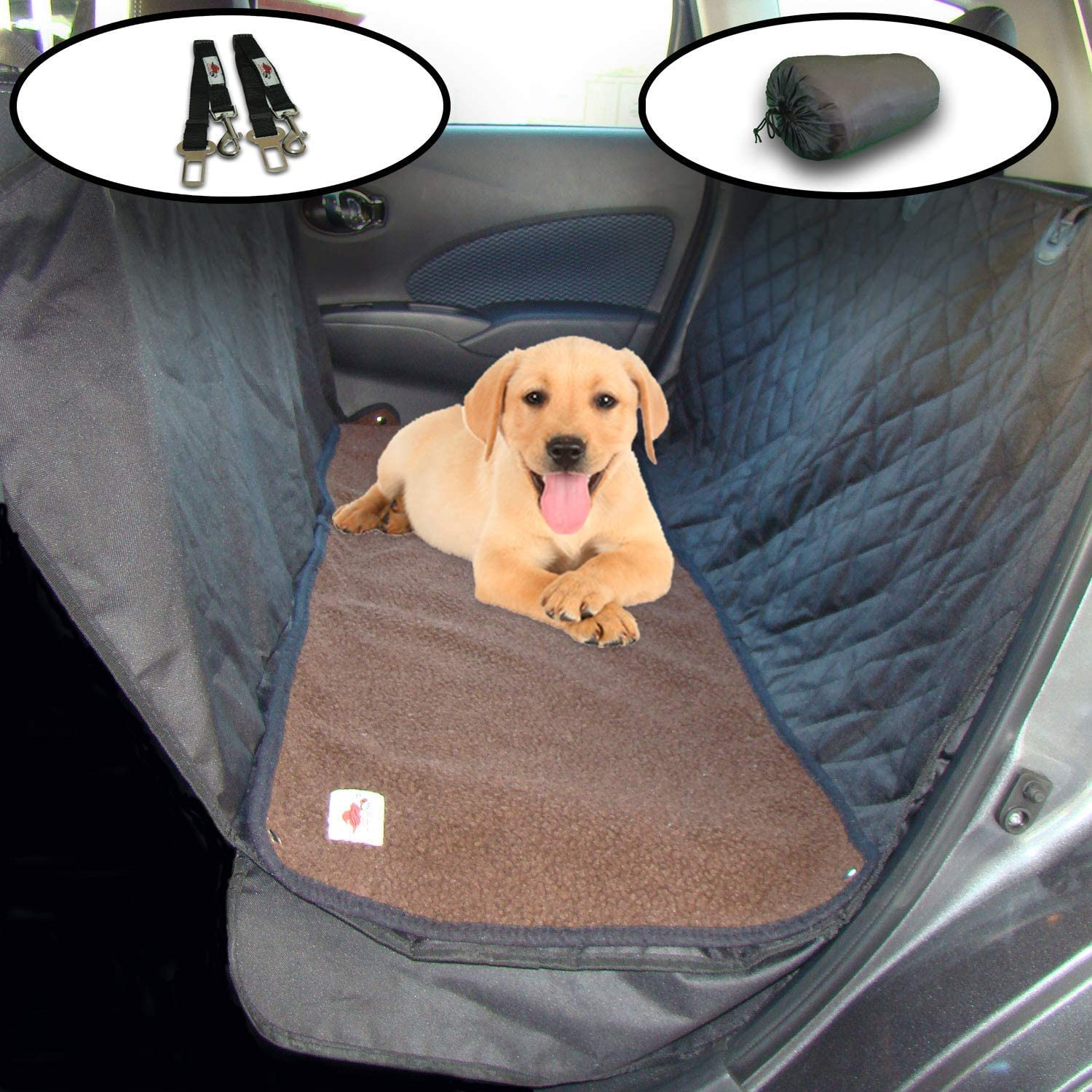 The Ultimate Dog Car Seat CoverPet Hammock Soft Washable