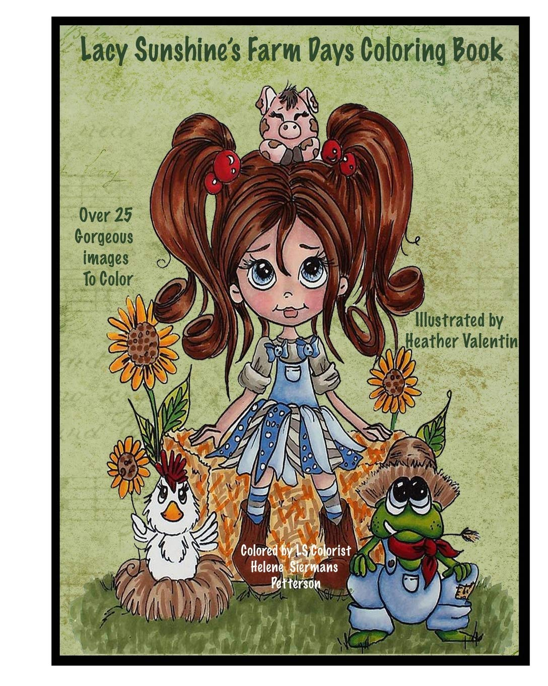Lacy Sunshines Farm Days Coloring product image