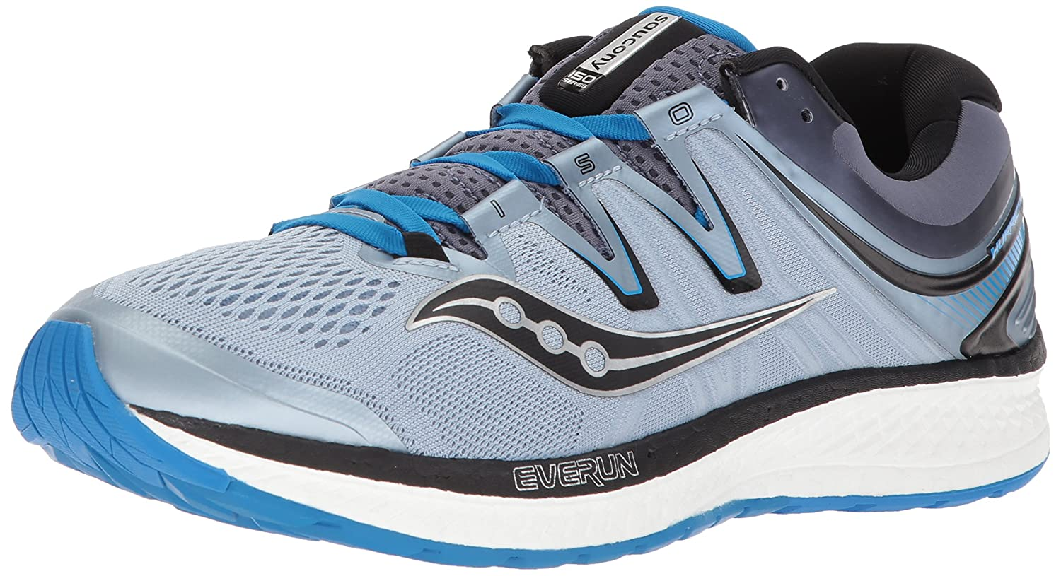 Saucony Stability Men Hurricane Iso 4 Stability Saucony Running Shoe Running Shoes Lightgrey - Blue 44|bleu f3e969