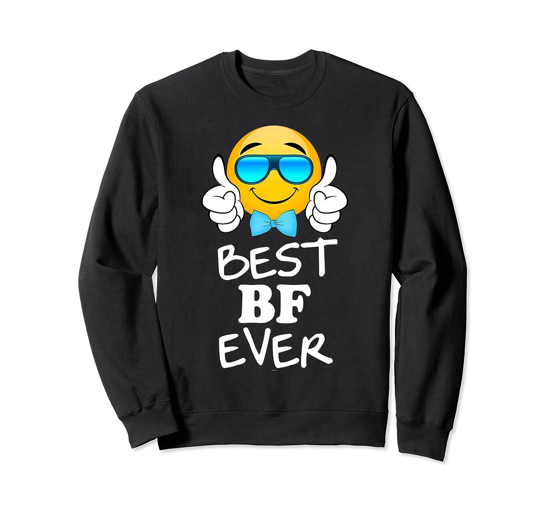 BF or boyfriend Gifts from GF or Girlfriend Sweatshirt-ln