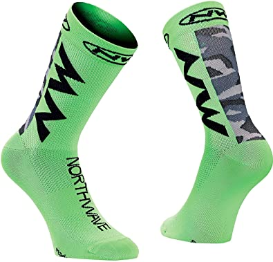 NORTHWAVE Set 3 Calcetines ciclismo hombre EXTREME AIR camo athlets