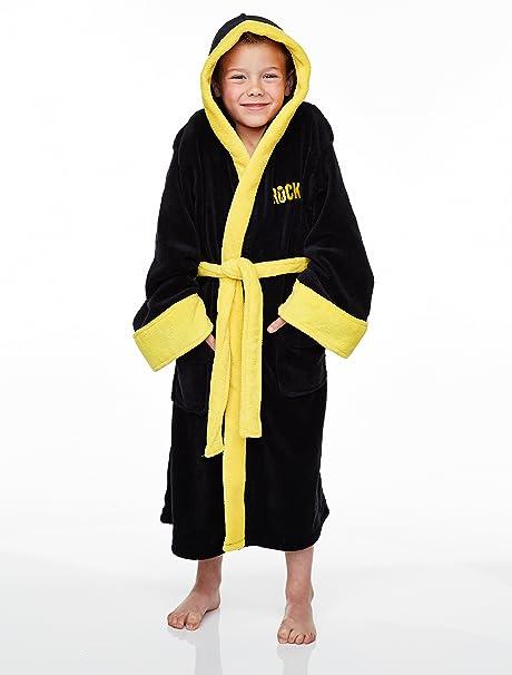 Rocky Balboa Kids Dressing Gown Medium: Amazon.co.uk: Kitchen & Home