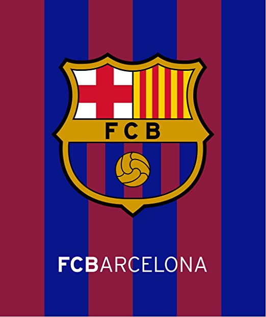 Amazon Com Fc Barcelona Soccer Team Beach Towel Size 40 X70 Home Kitchen