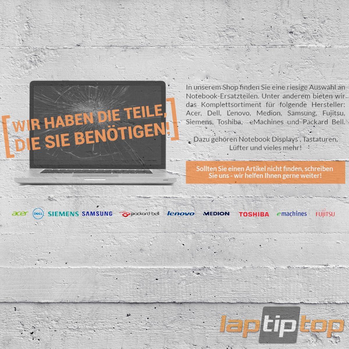 Laptiptop 15,6 LED Display 1920x1080 Full HD matt Ersatz f/ür N156HCE-GN1 Rev C1 72/% Gamut 1000:1 Contrast