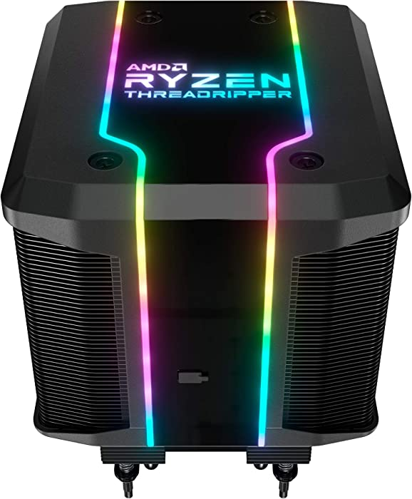 Cooler Master AMD Wraith Ripper ThreadRipper TR4 High Performance CPU Air Cooler w/ Addressable RGB, 7 Heat Pipes, Dual Tower Heatsink, Wraith Armor Air-Guide