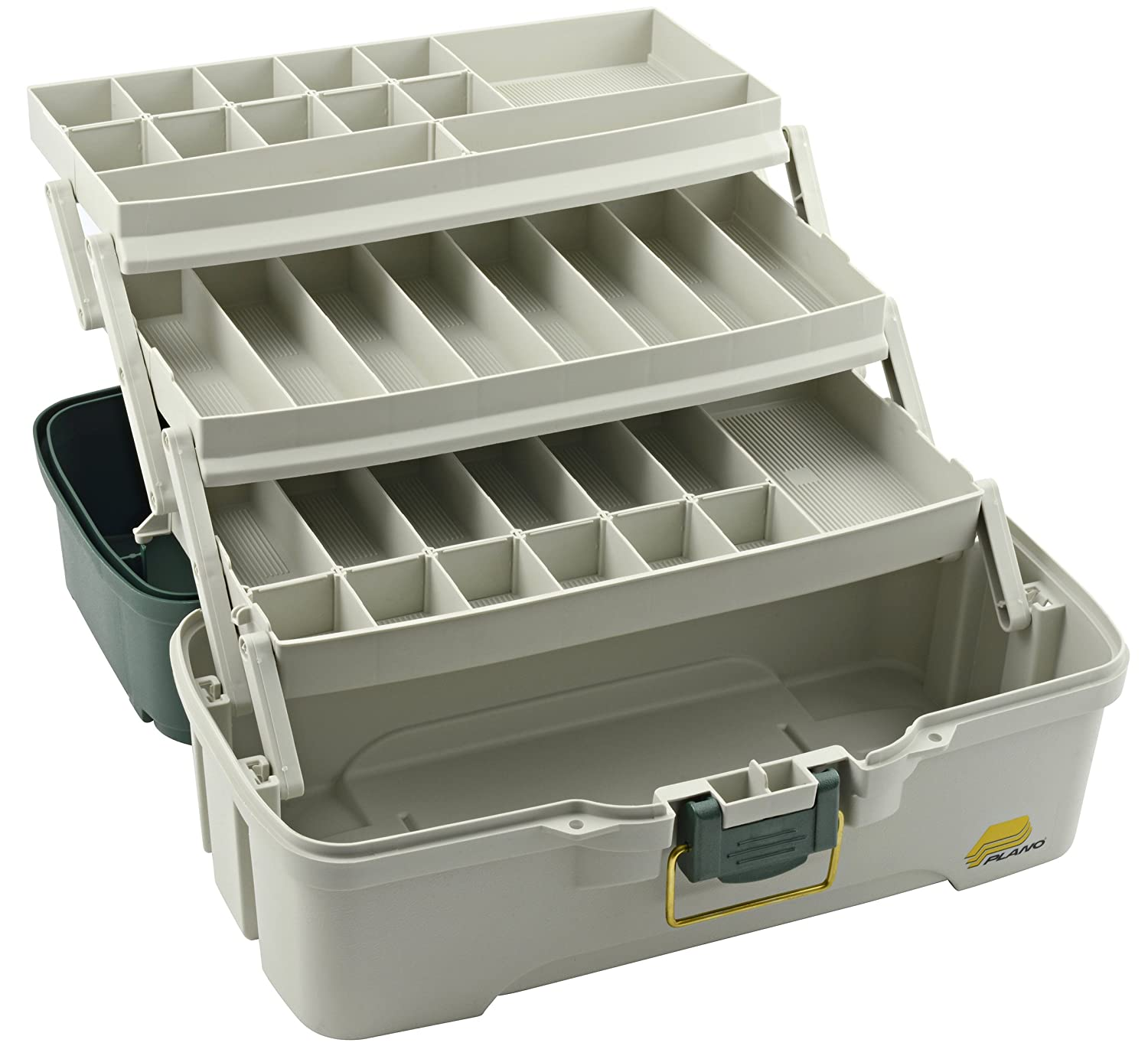 Amazon.com : Ready to Fish Saltwater Tackle Box with 3 Tray and Basic Tackle, 50 Piece : Tackle Boxes For Fishing With Tackle : Sports & Outdoors